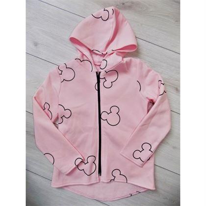 Różowa bluza z myszką miki 1